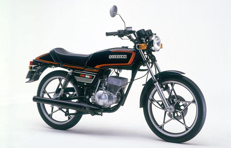 1980年4月 RG50E ブラック