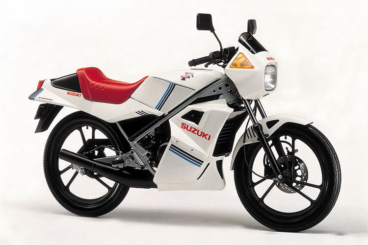 1982年12月 RG50Γ スーパーホワイト