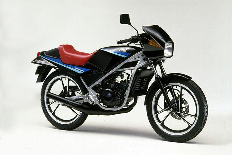 1985年3月 RG50Γ ブラック