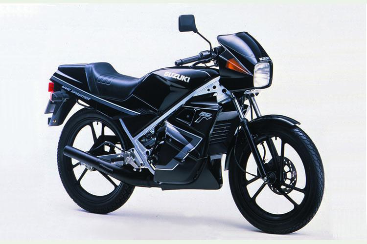 1988年6月 RG50Γ フルカウル仕様 ブラック
