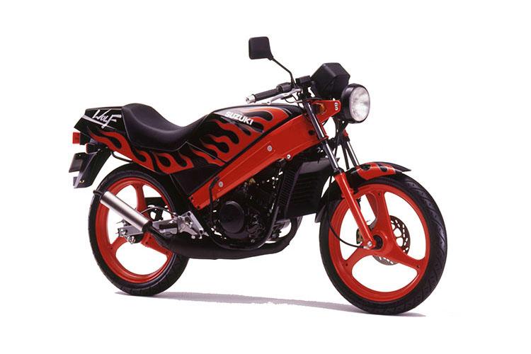 1991年4月 WOLF50 スペースブラック+炎ライン