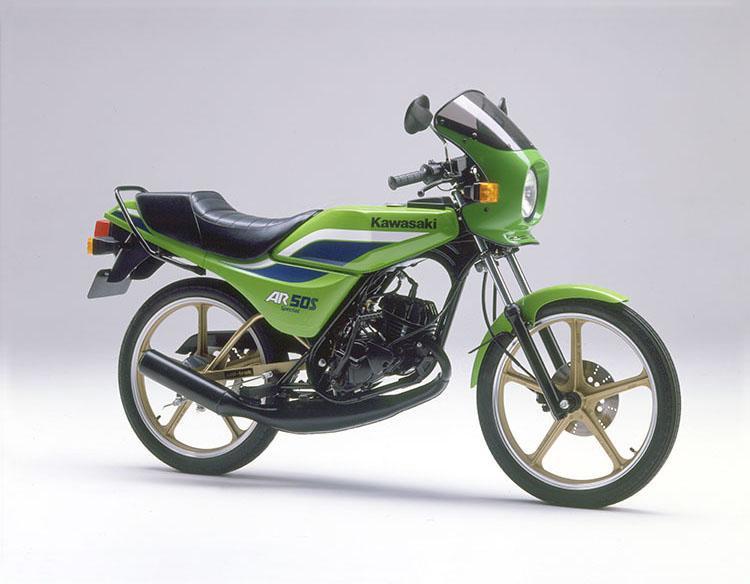1984年9月 AR50S Special ライムグリーン
