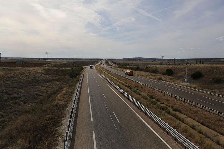 高速A62号線