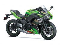 Ninja650シリーズがツインLEDヘッドライトの採用などでモデルチェンジ