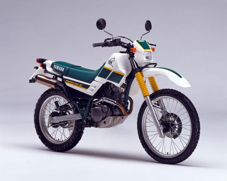 1989年8月9日 セロー225(3RW1) ホワイト×フォレストグリーン