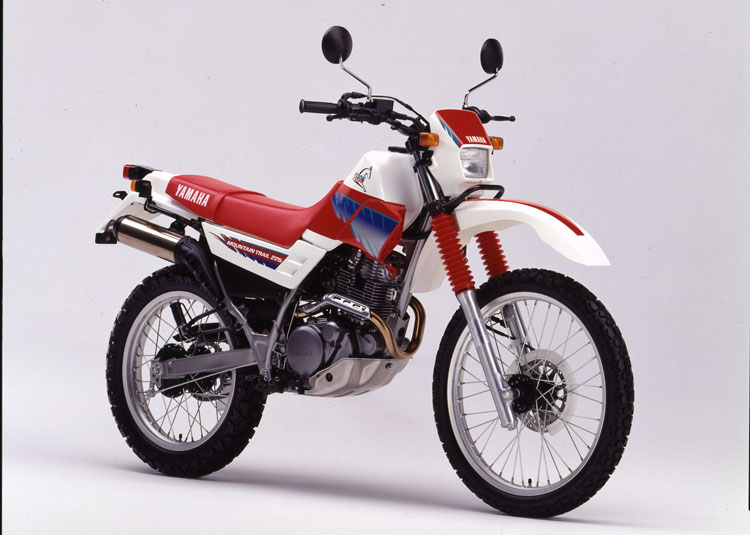 1991年7月1日 セロー225(3RW2)ホワイト×チャピイレッド