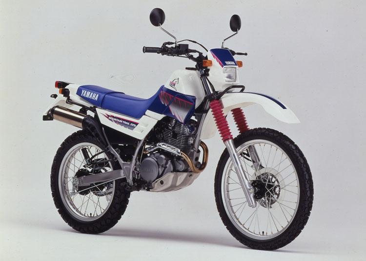 1991年7月1日 セロー225(3RW2)ホワイト×フレンチブルー