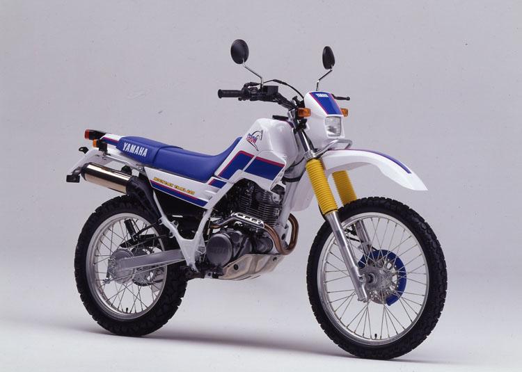 1992年3月25日 セロー225(3RW3)パープリシュホワイトソリッド1×ファラウエーブルー