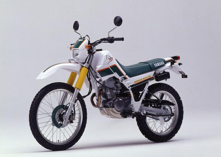 1992年3月25日 セロー225(3RW3)パープリシュホワイトソリッド1×フォレストグリーン