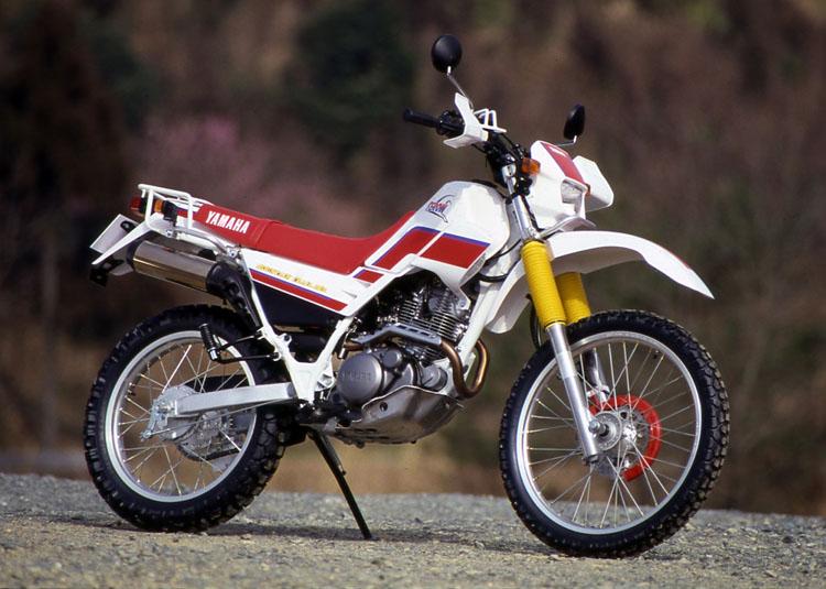 1992年3月25日 セロー225(3RW3)パープリシュホワイトソリッド1×チャピイレッド