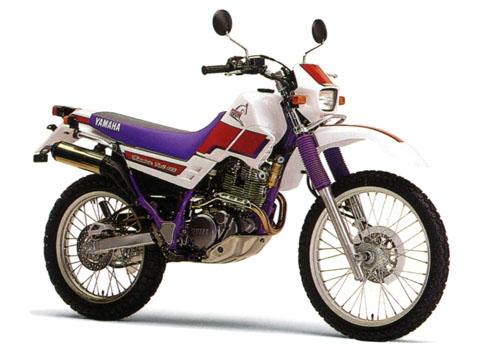 1995年2月1日 セロー225W(4JG2)パープリッシュホワイトソリッド1×ビビットパープリッシュレッドソリッド1