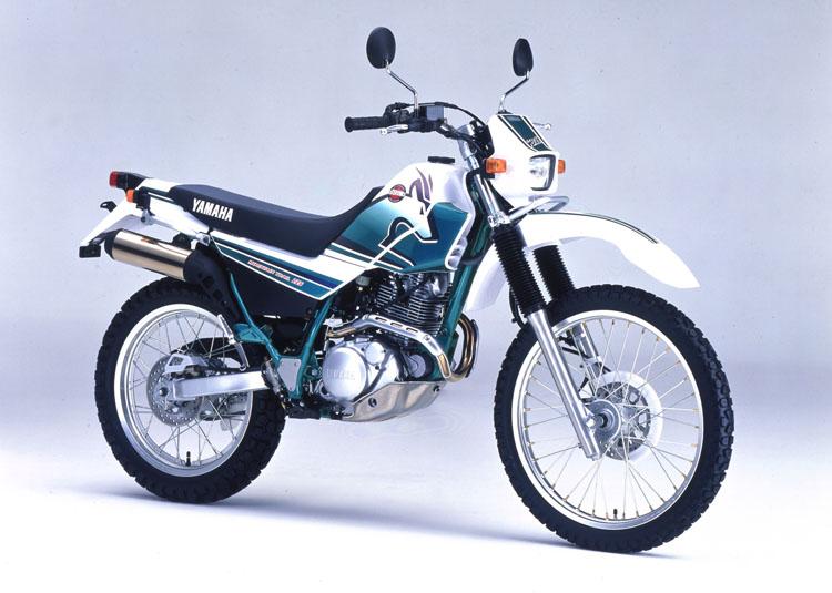 1998年8月1日 セロー225WE(4JG7)パープリッシュホワイトソリッド1×シアンメタリック3