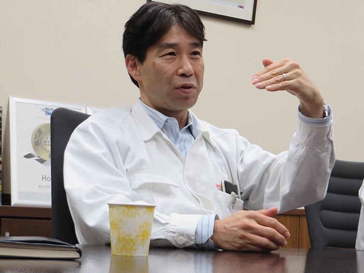 株式会社ホンダ・レーシング 取締役 レース運営室 室長 桒田哲宏氏。