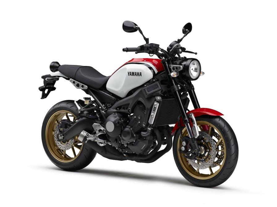 """Neo Retro""ロードスポーツのXSR900がポジションランプの追加などのマイナーチェンジ"