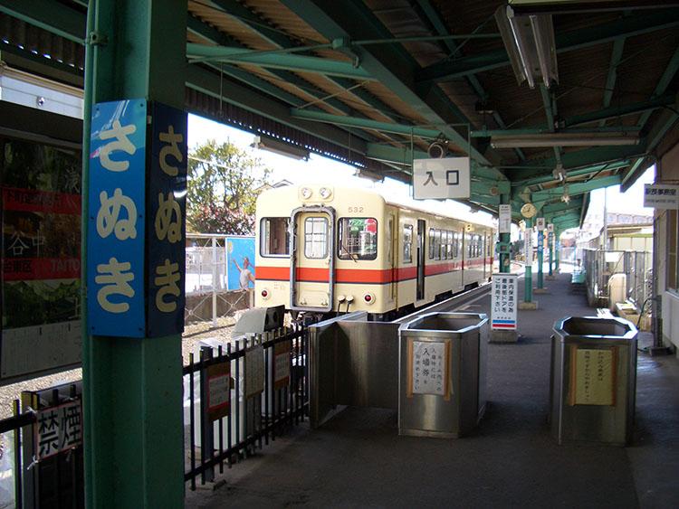 関東鉄道の佐貫駅