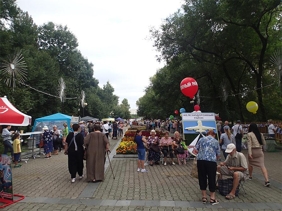ハバフロフスクのマーケット