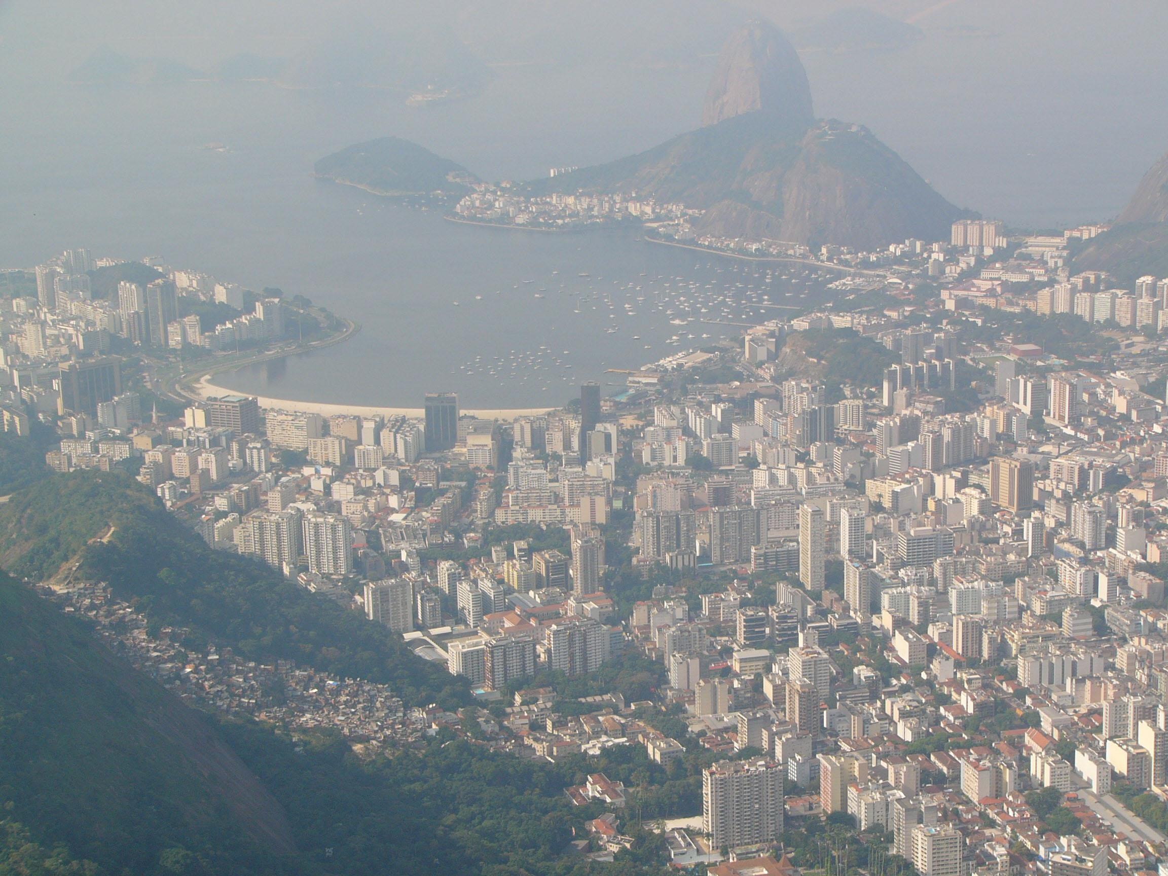 リオ・デ・ジャネイロの街