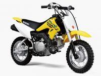"""2008年4月に発売された""""子供用オフロードバイク""""、DR-Z50がグラフィックを変更して発売された。"""