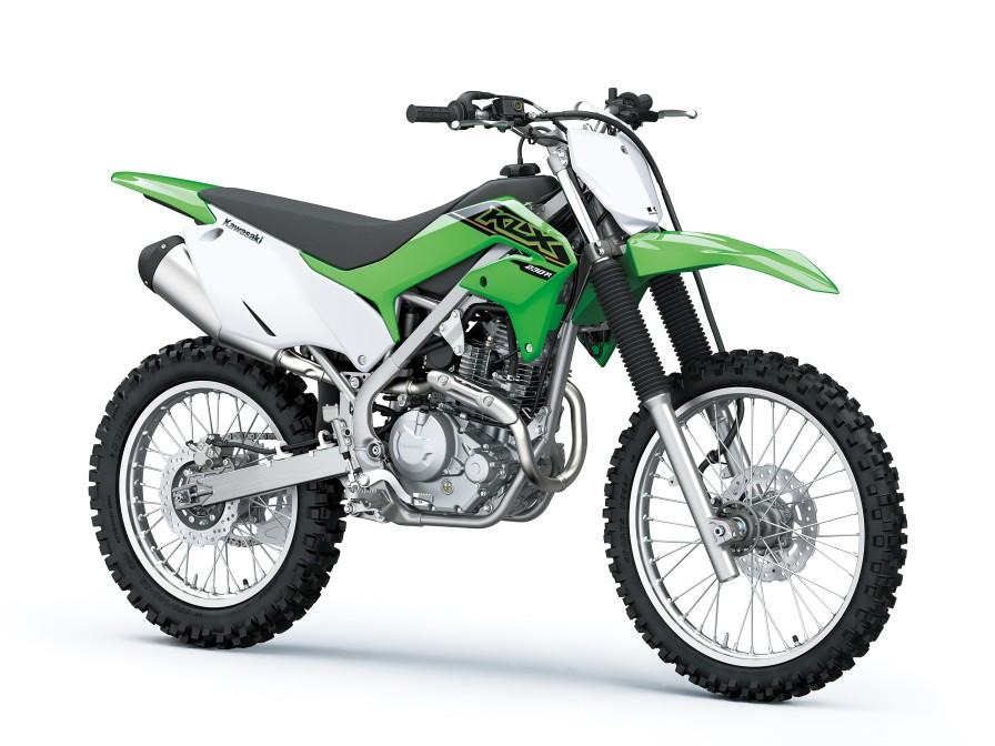 KLX230Rがカラー&グラフィックを変更して2021モデルに