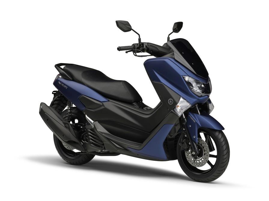 """BLUE CORE""エンジン搭載の軽二輪版スクーターNMAX155 ABSが新色を発売"