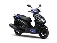 """今年のシグナス-X""""Moto-GP""""カラーリング仕様は限定800台で発売。"""