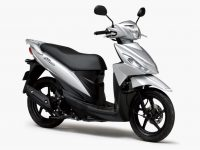 アドレス110がコンバインドブレーキの採用とカラー変更して2021年モデルに