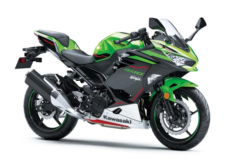 Ninja 400シリーズがカラー&グラフィックを変更で2020年モデルに