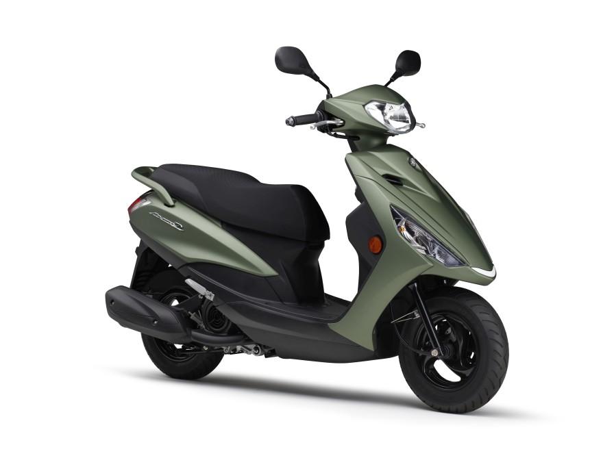 コンパクトボディの125スクーターがカラー変更で2021年モデルに