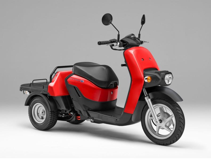 「e:ビジネス」バイク シリーズ第二弾「ジャイロ e:」を発売