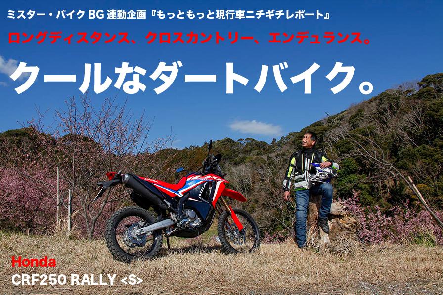 Honda CRF250 RALLY ロングディスタンス、クロスカントリー、エンデュランス。 クールなダートバイク。
