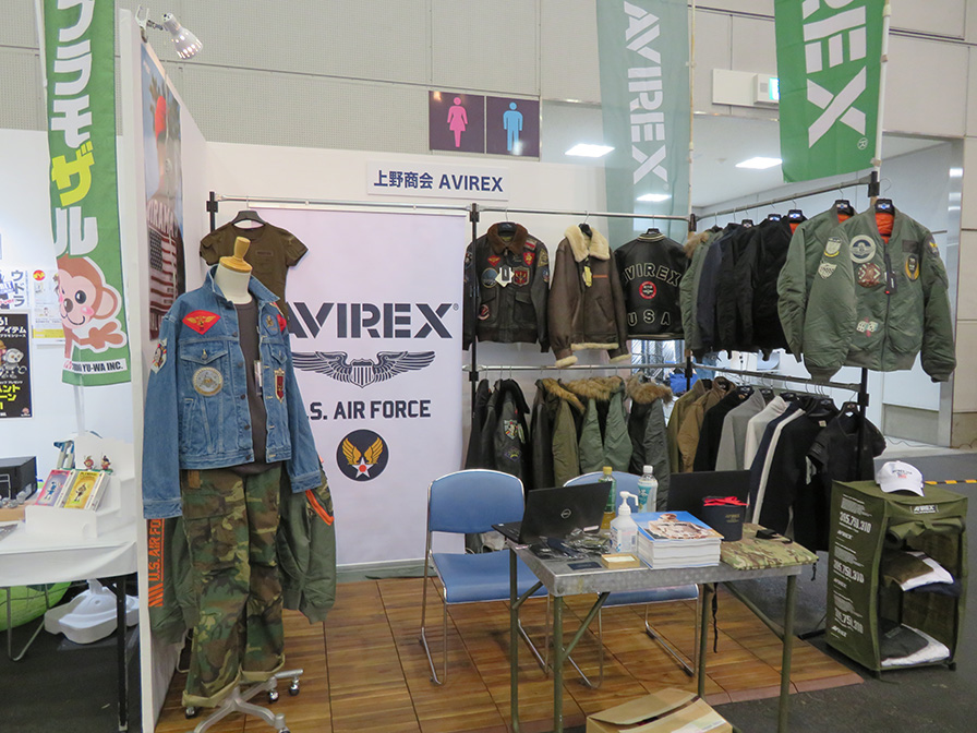 上野商会AVIREX