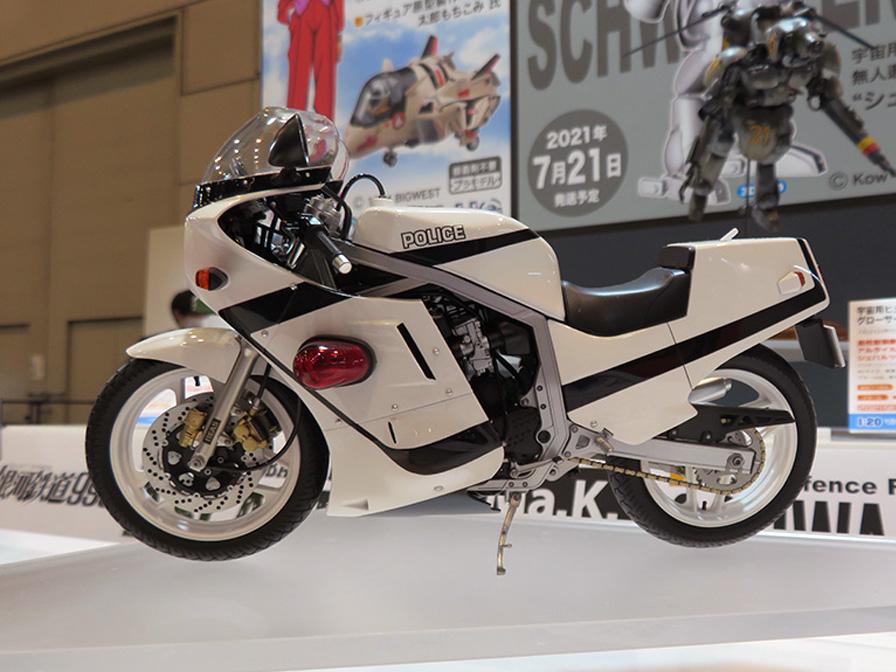 GSX-R750 白バイ仕様