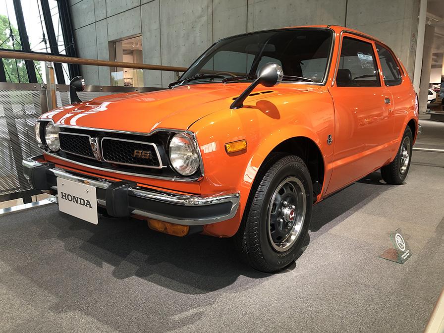 1975年 シビック RS