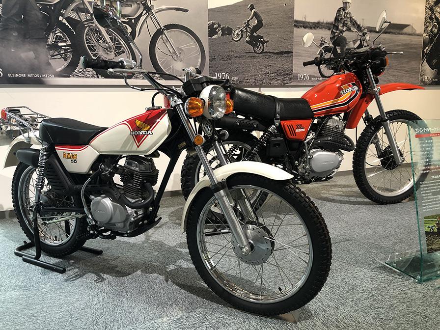 1976年 バイアルスTL50  1978年 XL250S