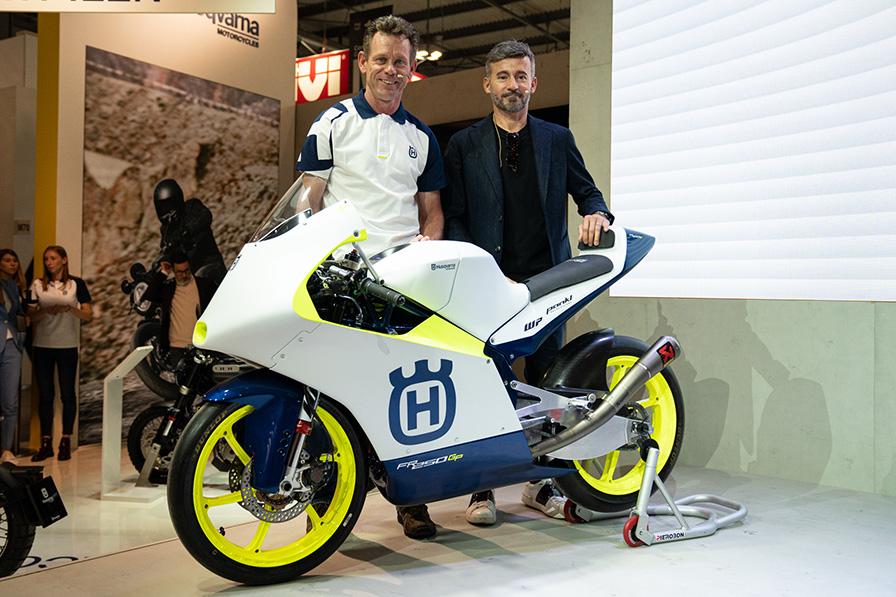 Moto3クラス参戦発表会場