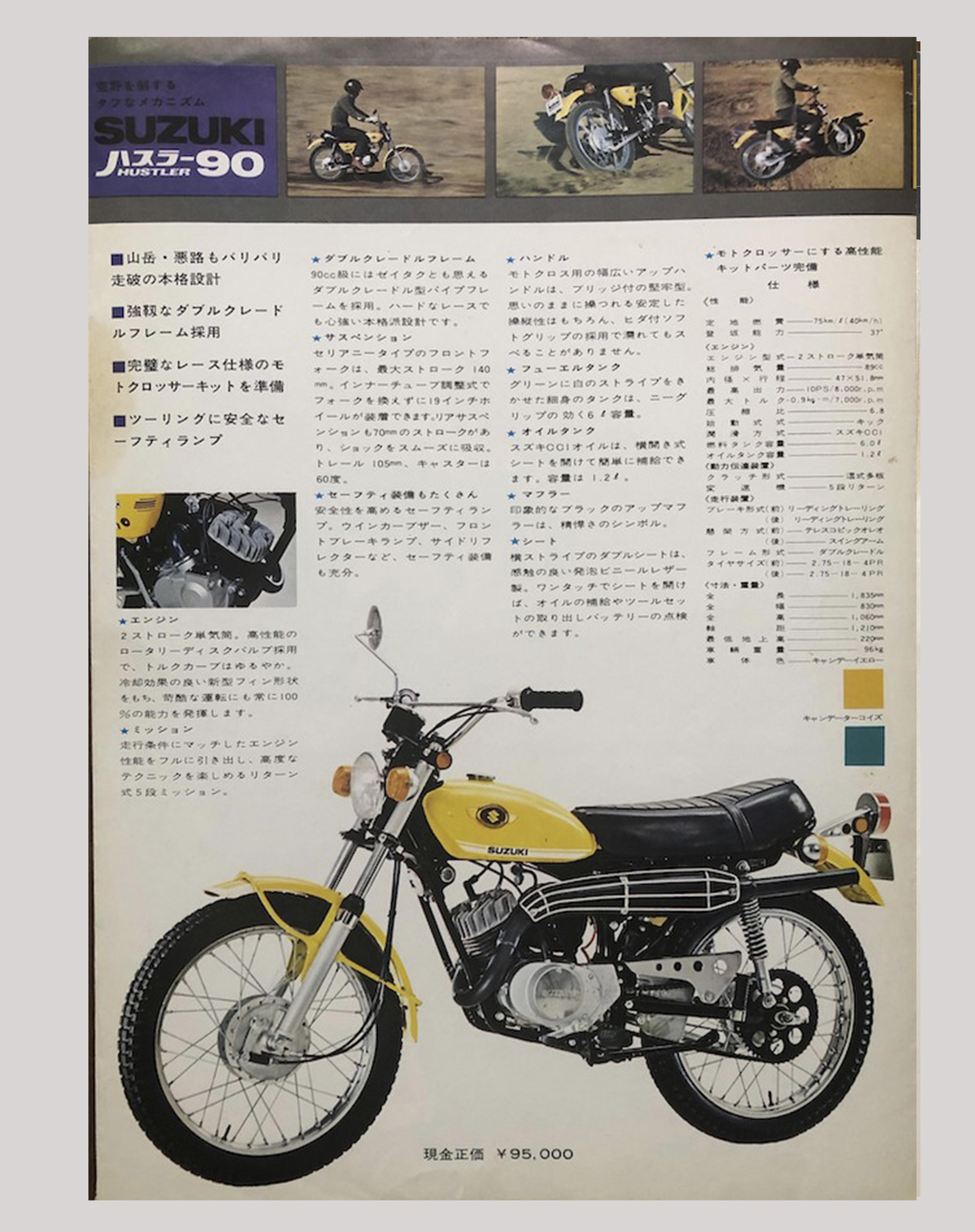 1971年 ハスラー50.90.125のカタログ