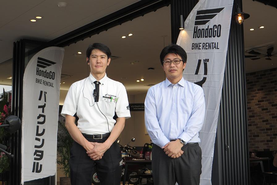 田村社長と高田店長