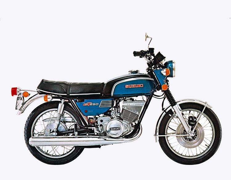 GT250B ブライトブルーメタリック