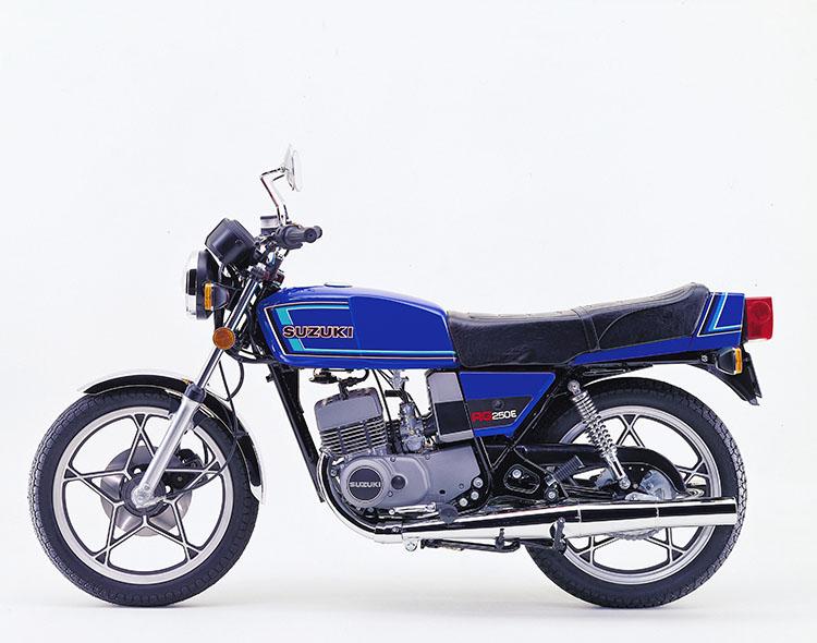 RG250E マーブルカナディアンブルー