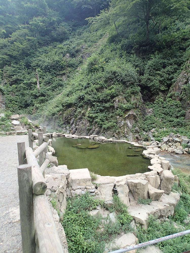 地獄谷野猿公苑の温泉場
